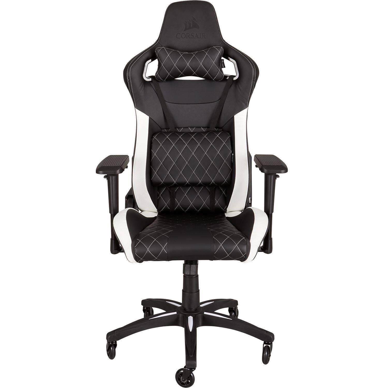 Corsair T1 Race Gaming Chair - White - Køb hos Geekunit.dk