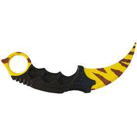 Karambit Kniv - Tiger Tooth