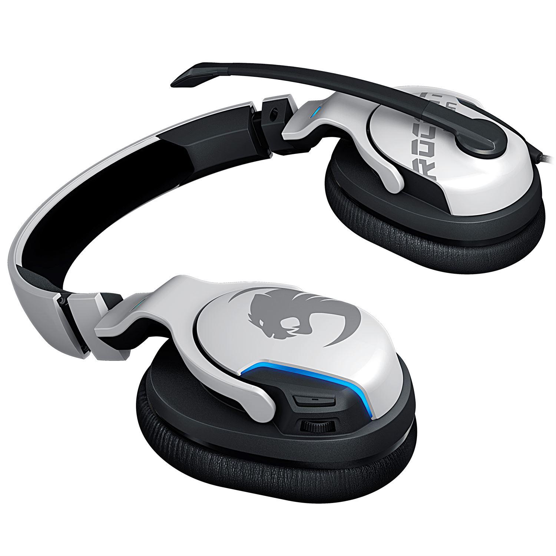 ROCCAT Khan Aimo RGB Gaming Headset - White - Køb hos ...